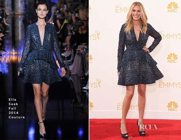 Julia Roberts In Elie Saab Couture - 2014 Emmy Awards