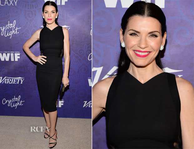 Julianna Margulies In Victoria Beckham - Variety and Women in Film Emmy Nominee Celebration