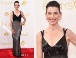 Julianna Margulies In Narciso Rodriguez - 2014 Emmy Awards