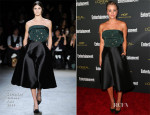 Kaley Cuoco In Christian Siriano - Entertainment Weekly's Pre Emmy Party