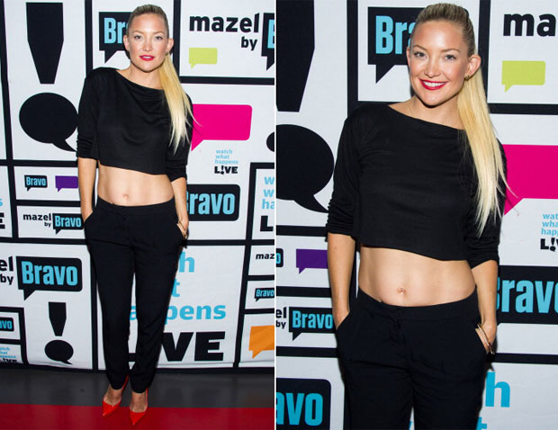 Kate Hudson In Houghton - Watch What Happens Live