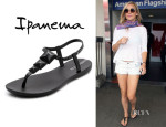 Kate Hudson's Ipanema 'Maya' Studded Rubber Sandals