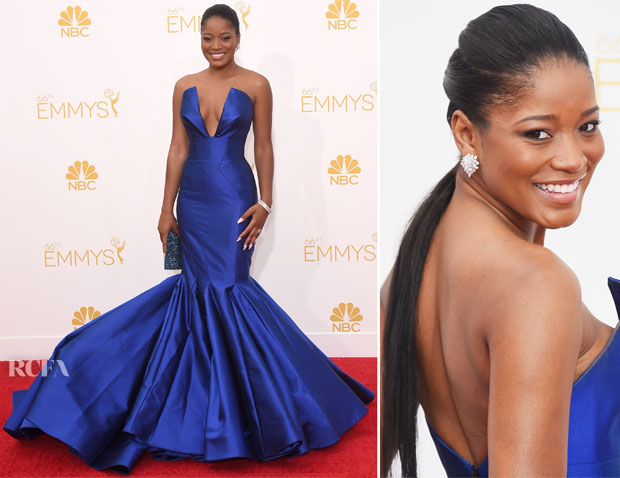 Keke Palmer In Rubin Singer - 2014 Emmy Awards2