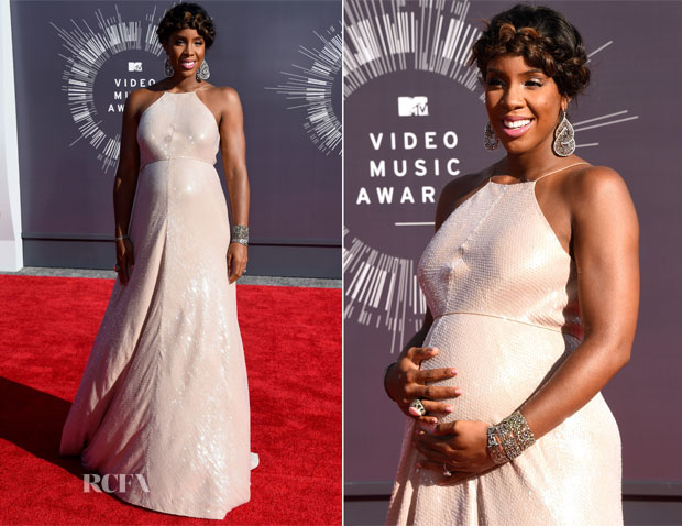 Kelly Rowland In Kaufmanfranco - 2014 MTV Video Music Awards #VMA