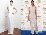 Kendall Jenner In Oriett Domenech - 2014 Teen Choice Awards
