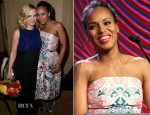 Kerry Washington In Mary Katrantzou - Hollywood Foreign Press Association's Grants Banquet
