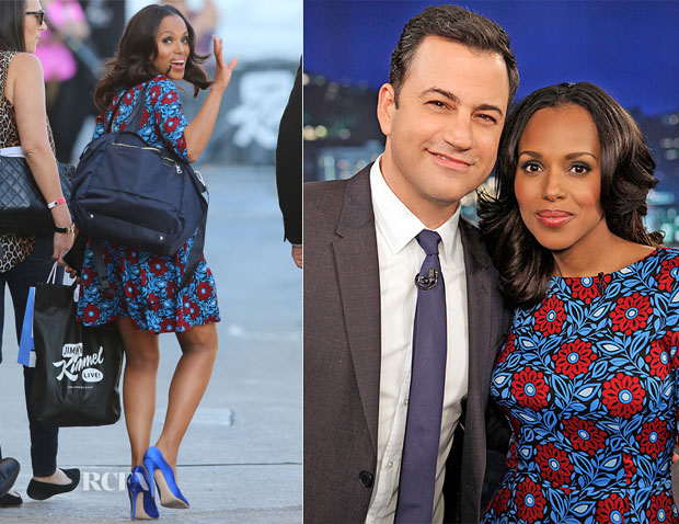 Kerry Washington In Suno - Jimmy Kimmel Live