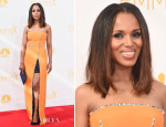Kerry Washington In Prada - 2014 Emmy Awards