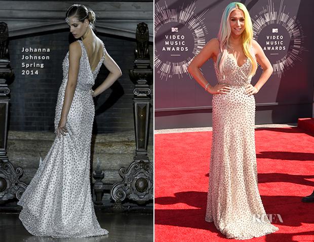 Kesha In Johanna Johnson - 2014 MTV Video Music Awards #VMA