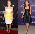 Kiernan Shipka In Giambattisa Valli - BAFTA Los Angeles TV Tea Party & Variety And Women In Film Emmy Nominee Celebration