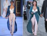 Kim Kardashian In Ulyana Sergeenko Couture - Jimmy Kimmel Live