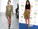 Kylie Jenner In Sass & Bide - 2014 Teen Choice Awards