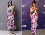 Lea Michele In Narciso Rodriguez - Variety And Women In Film Emmy Nominee Celebration