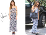 Lea Michele's Joie 'Rominette' Dress