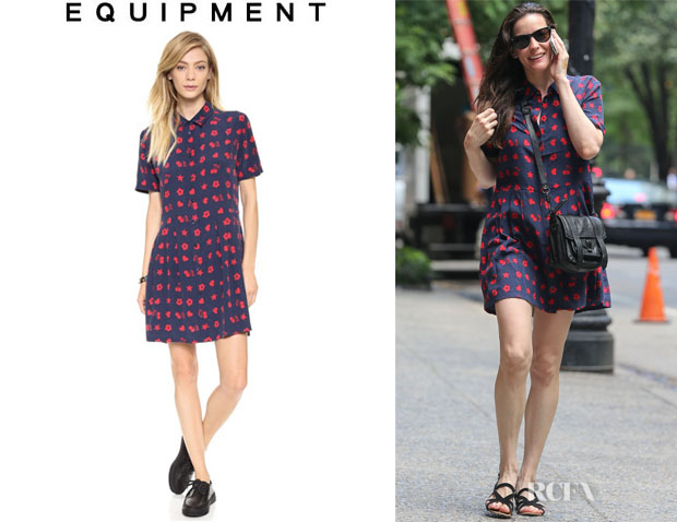 Liv Tyler's Equipment 'Naomi' Dress