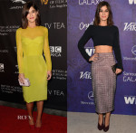 Lizzy Caplan In Cushnie et Ochs & Wes Gordon - BAFTA Los Angeles TV Tea Party & Variety And Women In Film Emmy Nominee Celebration