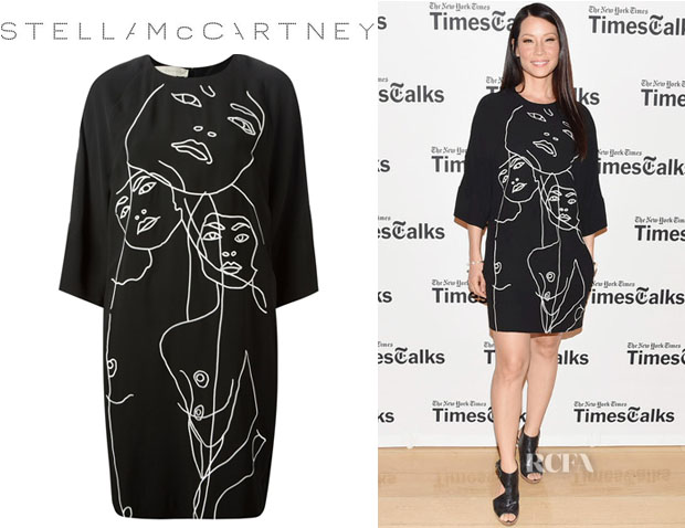 Lucy Liu's Stella McCartney 'James' Dress