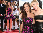 Lucy Hale In Oscar de la Renta - 2014 MTV Video Music Awards #VMA