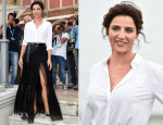 Luisa Ranieri In N°21 By Alessandro Dell'Acqua - Venice Film Festival Photocall