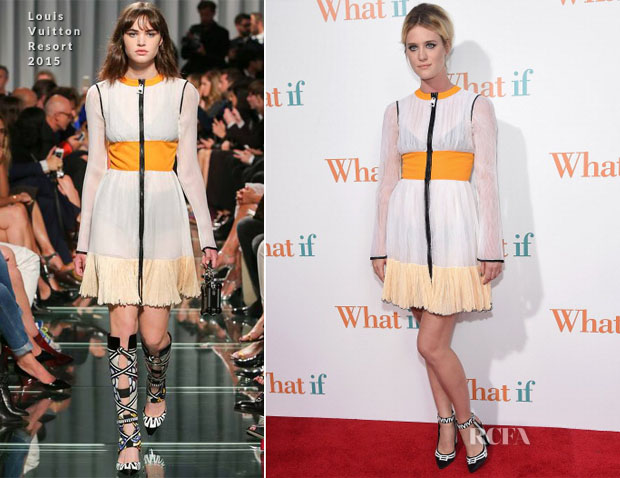 Mackenzie Davis In Louis Vuitton - 'What If' New York Premiere