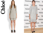 Maggie Gyllenhaal's Chloé Layered Dress