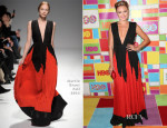 Malin Akerman In Martin Grant - HOB's Emmy Awards Post-Awards Reception