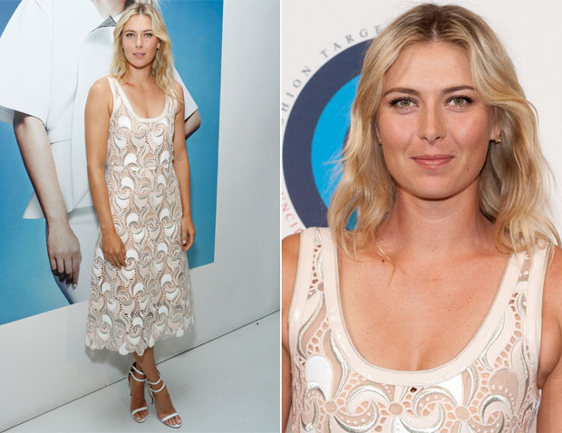 Maria Sharapova In Marc Jacobs - CFDA Celebrates Fashion Targets Breast Cancer 20th Anniversary Event