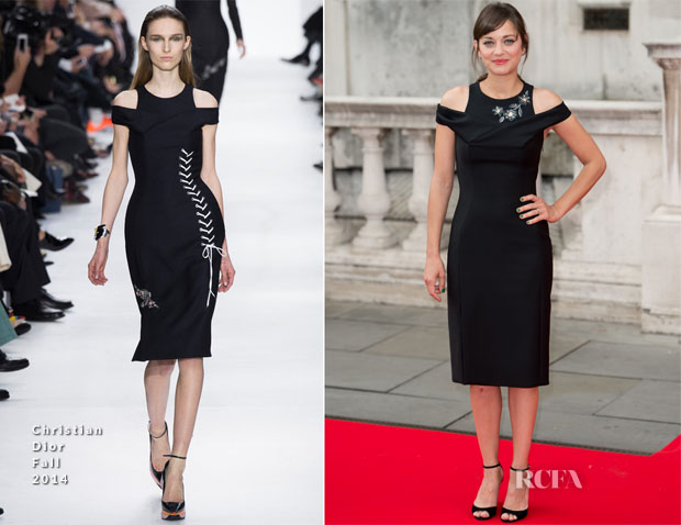 Marion Cotillard In Christian Dior - 'Two Days, One Night