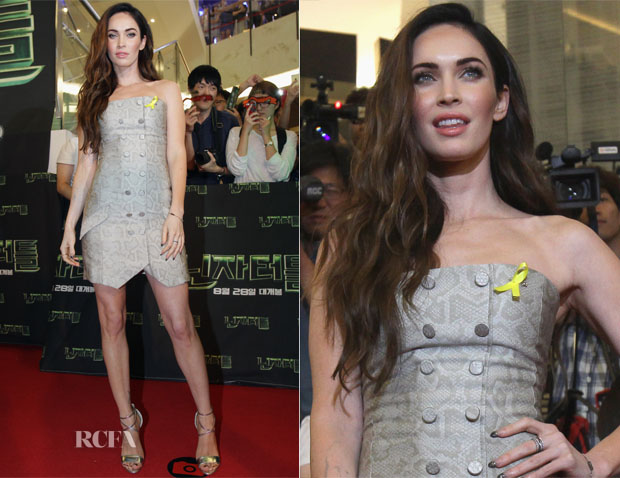 Megan Fox In Jenni Kayne - 'Teenage Mutant Ninja Turtles' Seoul Premiere