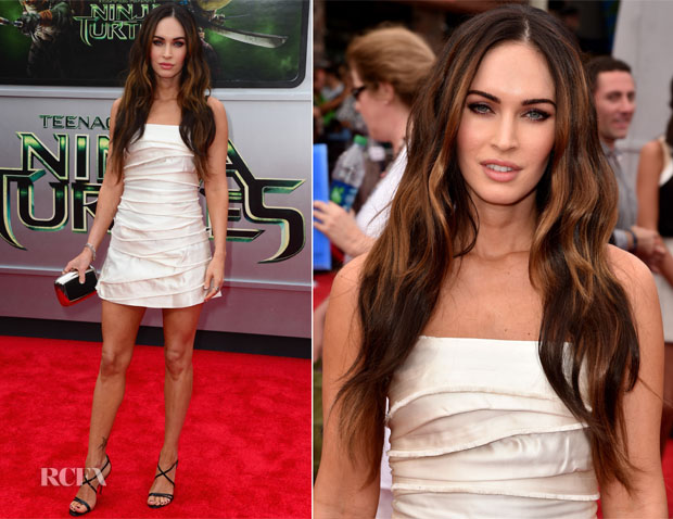 Megan Fox In Marc Jacobs - 'Teenage Mutant Ninja Turtles' LA Premiere