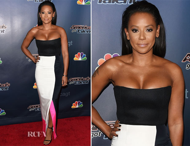 Mel B In Roksanda - 'America's Got Talent' Season 9 Post-Show Red Carpet Event