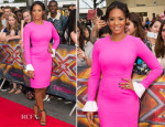Mel B In Roksanda - X Factor Wembley Arena Auditions