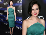 Michelle Dockery In Zac Posen - Audi Celebrates Emmys' Week 2014