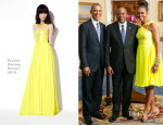 Michelle Obama In Prabal Gurung - US African Leaders Summit