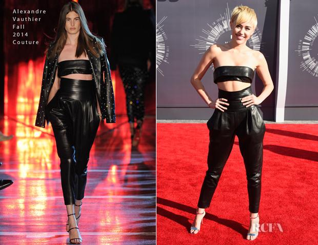 MileyCyrusInAlexandreVauthier2014VMA