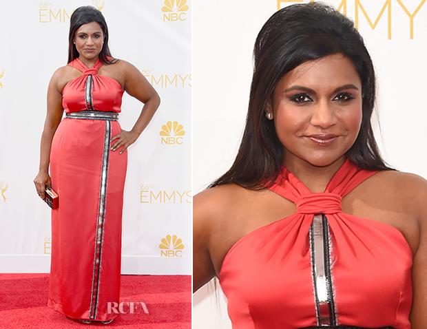 Mindy Kaling In Kenzo - 2014 Emmy Awards 2