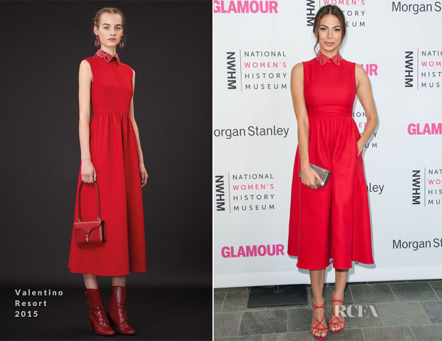 Moran Atias In Valentino - National Women's History Museum Women Making History Event