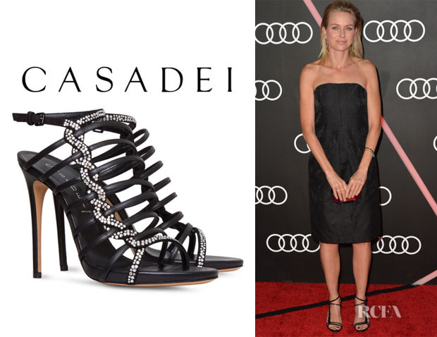 Naomi Watts' Casadei 'Evening' Sandals