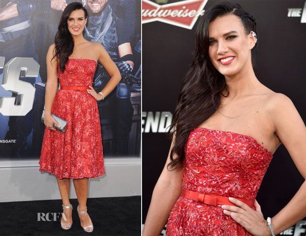 Natalie Burn In Basler Couture - 'The Expendables 3′ LA Premiere