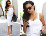 Naya Rivera In Rebecca Minkoff - Out In Beverly Hills
