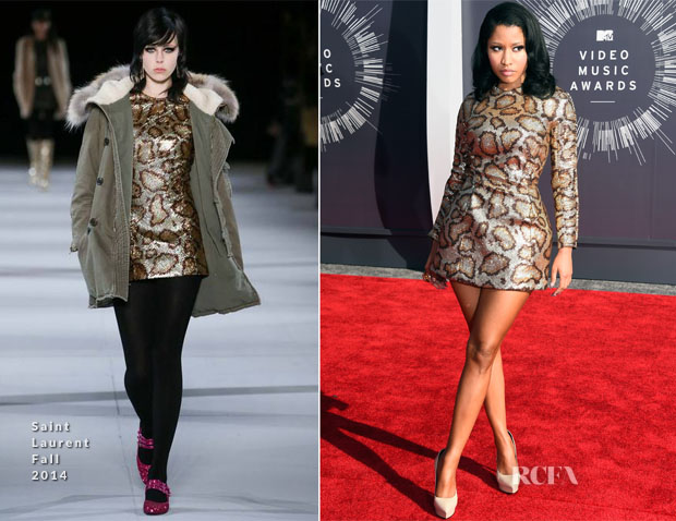 Nicki Minaj In Saint Laurent - 2014 MTV Video Music Awards #VMA