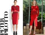 Nicole Kidman's Peter Pilotto Colourblock Dress