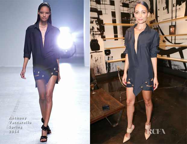 Nicole Richie In Anthony Vaccarello - Ryan Korban's 'Luxury Redefined' Book Launch Party