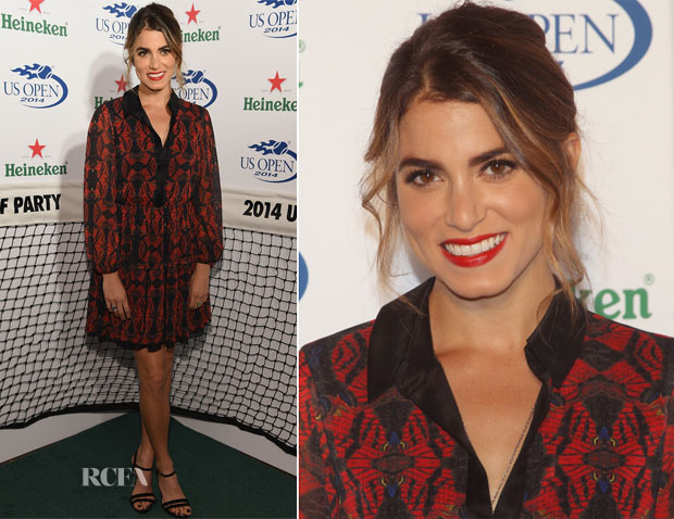 Nikki Reed In Alice + Olivia - 2014 Heineken US Open Kick Off Party
