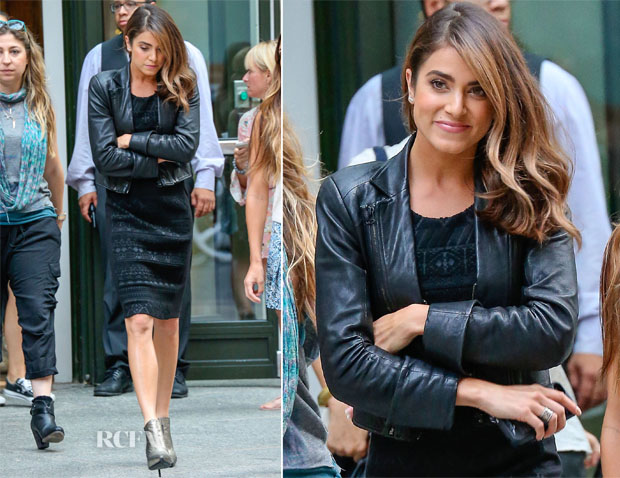 Nikki Reed In Rebecca Minkoff - Out In New York City