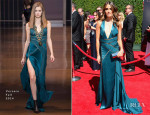 Nikki Reed In Versace - 2014 Creative Arts Emmy Awards
