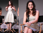 Odeya Rush In Monique Lhuillier - 'Meet The Filmmakers' Event