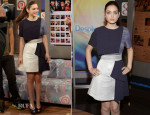 Odeya Rush In Paper London - Despierta America