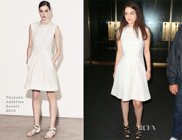 Odeya Rush In Thakoon Addition - The Today Show