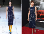 Olga Kurylenko In Michael Van Der Ham - 'The November Man' LA Premiere